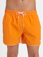 Lobster Swim Trunks