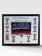 New York Rangers Retired Numbers Collage