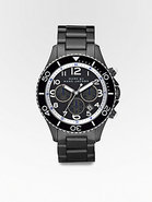 Marine Chronograph Watch/Grey IP