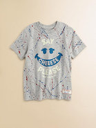 Girl's Paint Splatter Tee