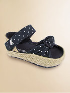 Infant&#39;s Polka Dot Fistina Sandals