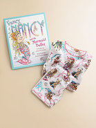 Fancy Nancy & The Mermaid Ballet Book & Pajamas Se