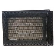 Twofold Money Clip - Men's - Wallets - Black