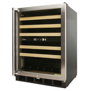 45-Bottle Dual-Zone Wine Cooler