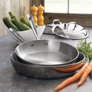 Stainless Steel French Skillet with Lid, 9