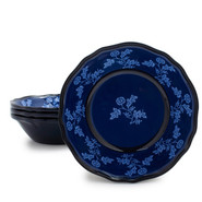 Blue French Floral Cereal Bowl