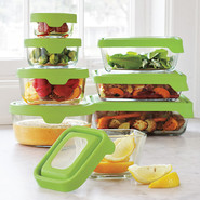 Glass Storage Containers, 4 C., 4 cup