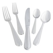 Caviar Flatware 5-Piece Place Setting