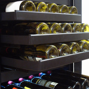 142-Bottle Dual-Zone Touch Screen Wine Cooler (Rig
