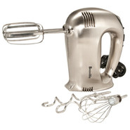 Chrome 16-Speed Hand Mixer