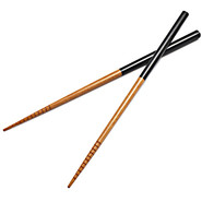 ?? Two-Tone Bamboo Chopsticks, 1 Pair, 9
