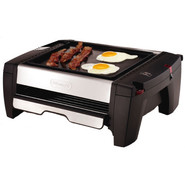 Griddle Plate for Indoor Grill/Smokeless Broiler