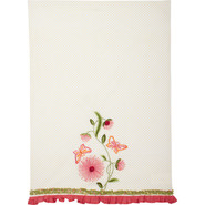 Butterfly Flower Vintage-Inspired Kitchen Towel