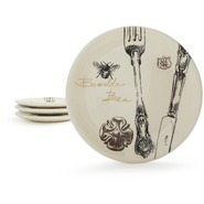 Paris Bee Salad Plate, 8 1/2