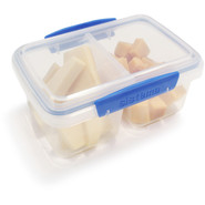 Rectangular Split Storage Container, 34 oz.