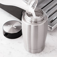 Stainless-Steel Thermal Milk Container, 14 oz.