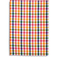 Multicolor Small-Check Kitchen Towel
