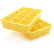 Perfect Cube Ice Trays, Sunshine Yellow
