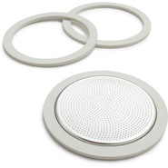 Moka Express Espresso Gasket & Filter Replacements