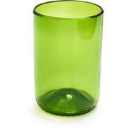 Green Recycled Double Old Fashioned Glass, 12 oz.