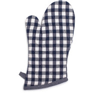 Red Picnic Check Oven Mitt