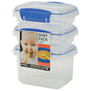 Baby Pack Storage Containers