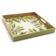 Michele Designs Olive Decoupage Serving Tray