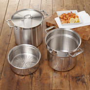 Stainless Steel Multi-Cooker, 12 qt.