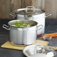 Stainless Steel Stockpot, 16 qt.