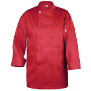 Basic Red Chef Coats, Small