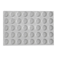 Elastomoule Mini Tartlet Grids, 40 Portions