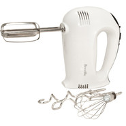White 16-Speed Hand Mixer