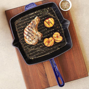 Marin-Blue Square Grill Pan, 12