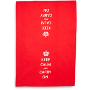 Keep Calm Kitchen Towel