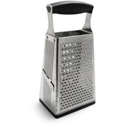 4-Sided Box Grater with Ginger Grater Base