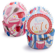 Eat Cake  Bake Cups, Set of 48