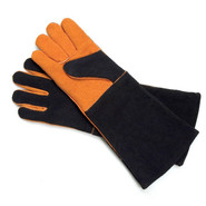 Leather BBQ Gloves, Set of 2