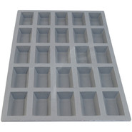 ?? Elastomoule Mini Financier Grid, 25 Portions