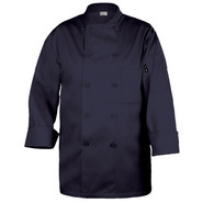 Basic Navy Chef Coats, Large