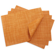 Papaya Basketweave Placemat