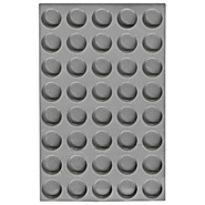Elastomoule Mini Medallion Grid, 40 Portions