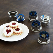 Linzer Cookie Cutter 5 Piece Set