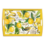 Michele Design Works Lemon Decoupage Serving Tray,