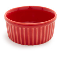 Red Porcelain Ramekin