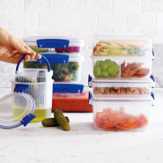 Rectangular Storage Container, 34 oz., 14 oz.