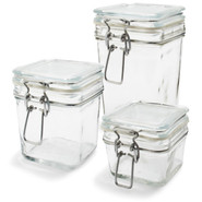 Square Canning Jar, 7oz., 7 oz.