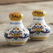 -Style Salt and Pepper Shaker Set