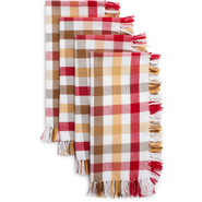 Farm House Check Napkins, Set of Four