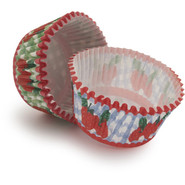 Strawberry Duo Bake Cups, Set of 48