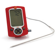 Red Weekend Warrior Digital Grilling Thermometer w